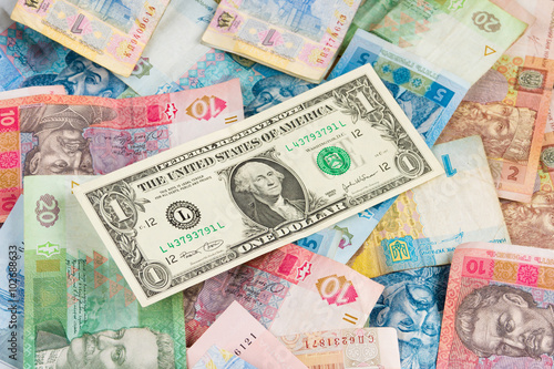 Ukrainian Economic Crisis Currency Rate Hryvnia To Dollar