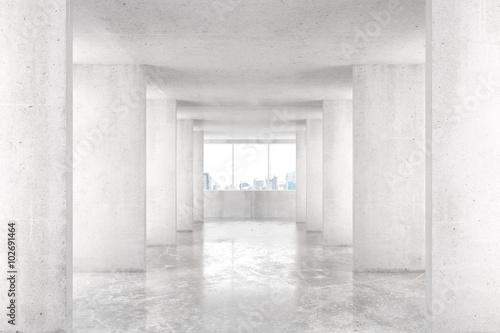 tunel-w-stylu-loft-z-wieloma-scianami-w-swietle