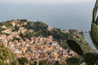 Taormina aereal view