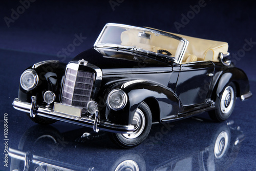 Wall Murals Old cars altes modell auto old model car