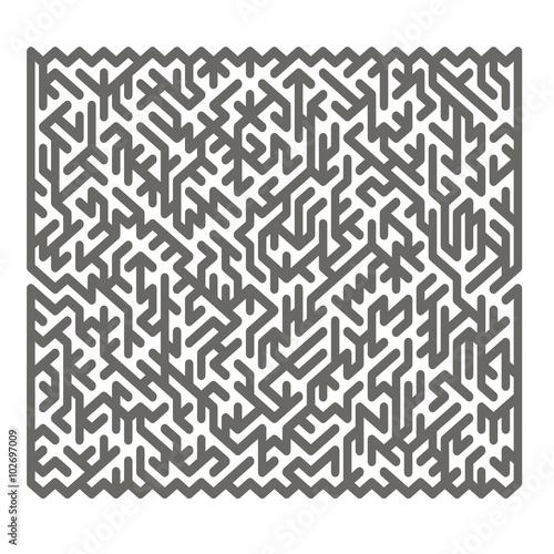Foto auf AluDibond Boho-Stil Labyrinth. Kids Maze
