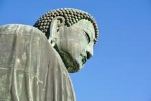 The Great Amida Buddha Of Kamakura (Daibutsu) In The Kotoku-in Temple