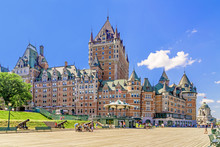Chateau Frontenac In Old Quebe...