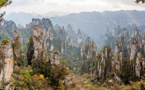 Tuinposter China ZhangJiaJie National Forest Park in China