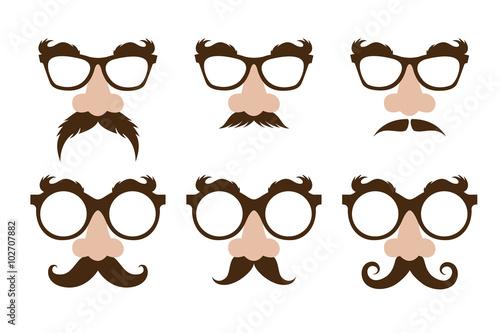 d1e9d4a4c81 closeup of a fake nose and glasses