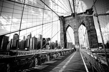 Brooklyn Bridge, New York City. USA.