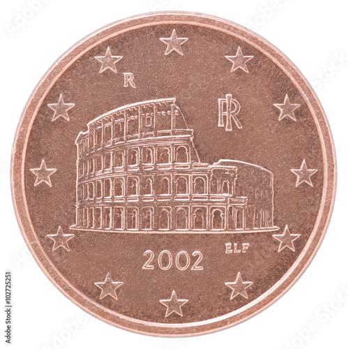 Papel de parede  euro cent coin