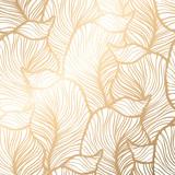 Fototapeta Kwiaty - Damask seamless floral pattern. Royal wallpaper.