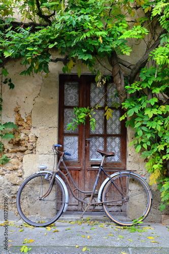 Türaufkleber Fahrrad bicycle-labastide-france