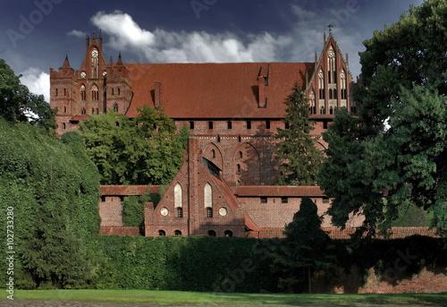Fototapety, obrazy: Zamek krzyżacki w Malborku