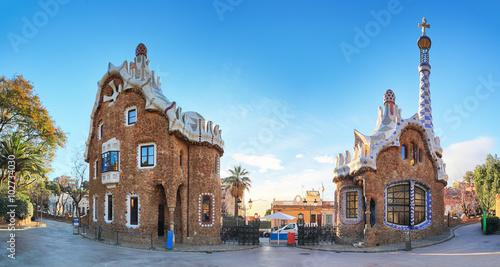 Barcelona, Guell Park, Spain - 102734030