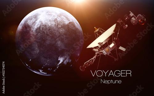 Fotografia, Obraz Neptune - Voyager spacecraft