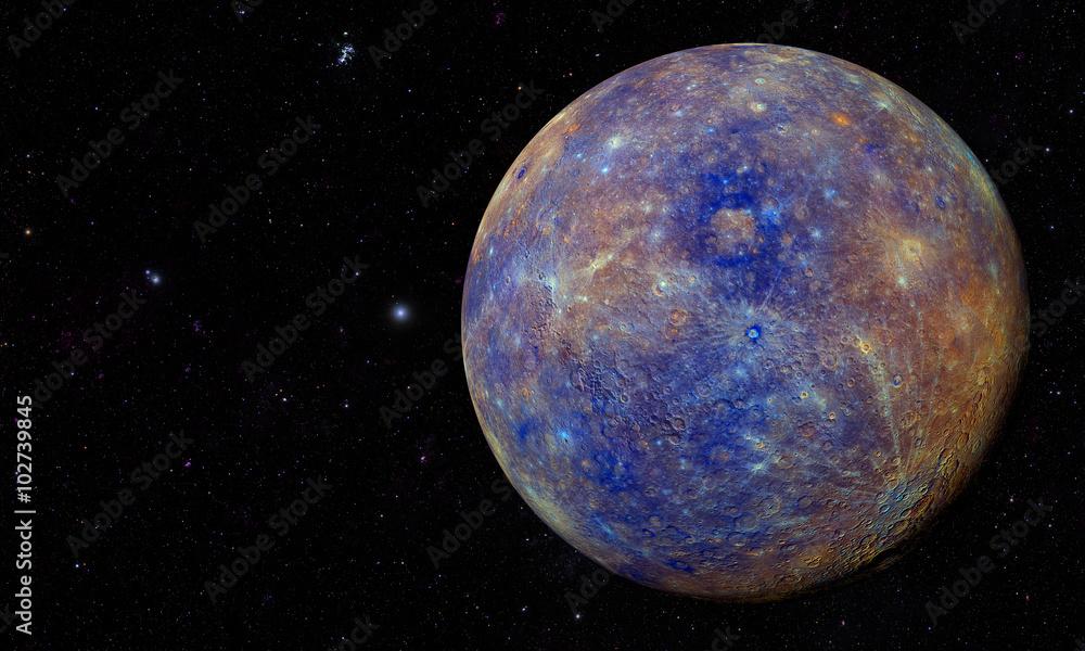 Fototapety, obrazy: Solar System - Planet Mercury