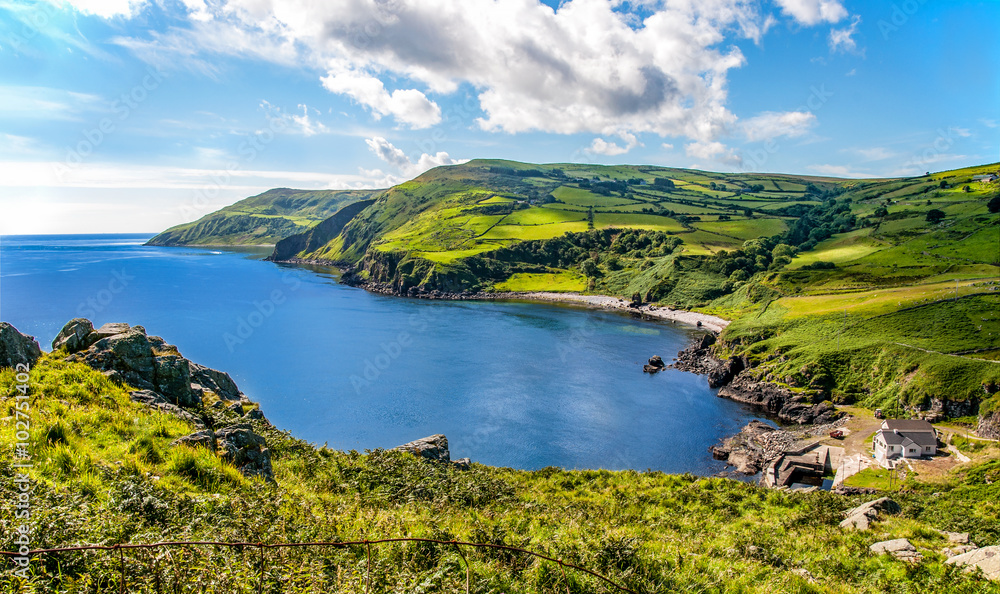 Fototapeta Northern coast of County Antrim, Northern Ireland
