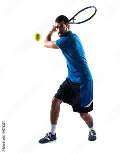 Carta da parati Tennis player