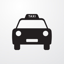 Taxi Icon For Web And Mobile.