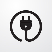 Electrial Plug, Power Cord Ico...