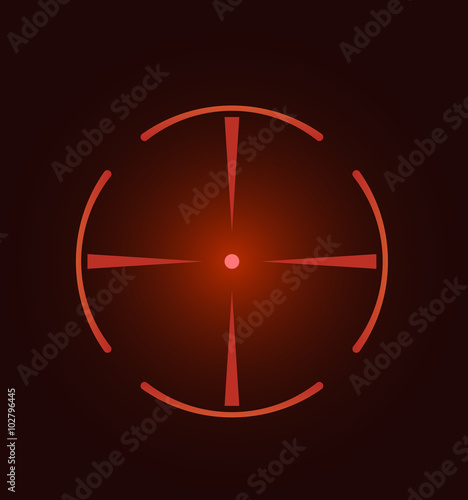 Fotografía  Crosshair, reticle, viewfinder, target graphics