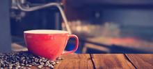 Composite Image Of White Coffe...