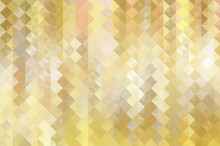 Bokeh Light, Shimmering Blur Spot Lights On Gold Abstract Backgr