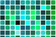 abstract background. blue and green mosaic