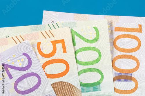 New Swedish Money Poster