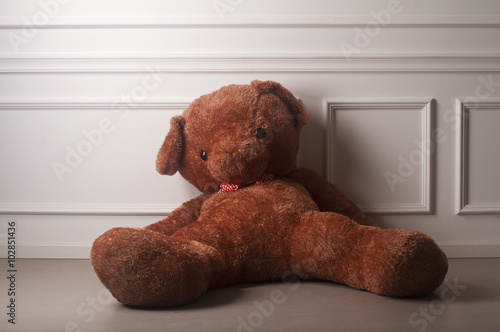 obraz lub plakat Huge toy bear