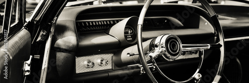 Photo sur Aluminium Vintage voitures Classic car