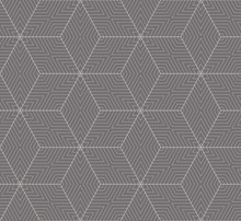 Simple Seamless Vector Geometric Pattern.