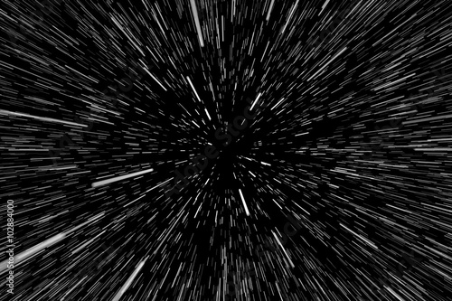 Photo  Stars, Space Warp