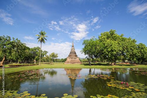 Fotografie, Obraz  Sukhothai Historical Park, Sukhothai Thailand