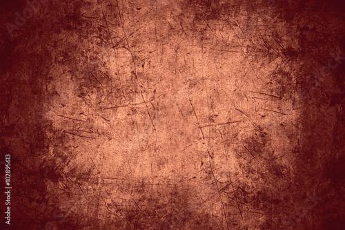 Fotografia  scratched metal texture