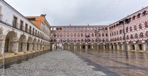High square in Badajoz, Spain