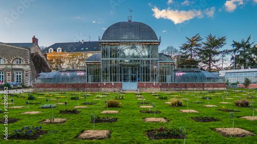 Serre du jardin des plantes - Nantes - Buy this stock photo ...