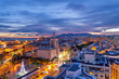 Malaga, Andalusia, Spain, view from the roof of building