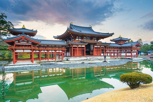 Byodo-In Temple in the city of Uji in Kyoto Prefecture, Japan.