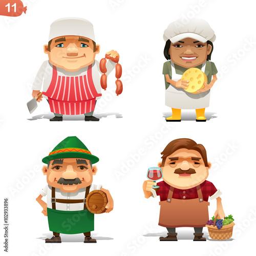 Fotografía  Food Industry professions