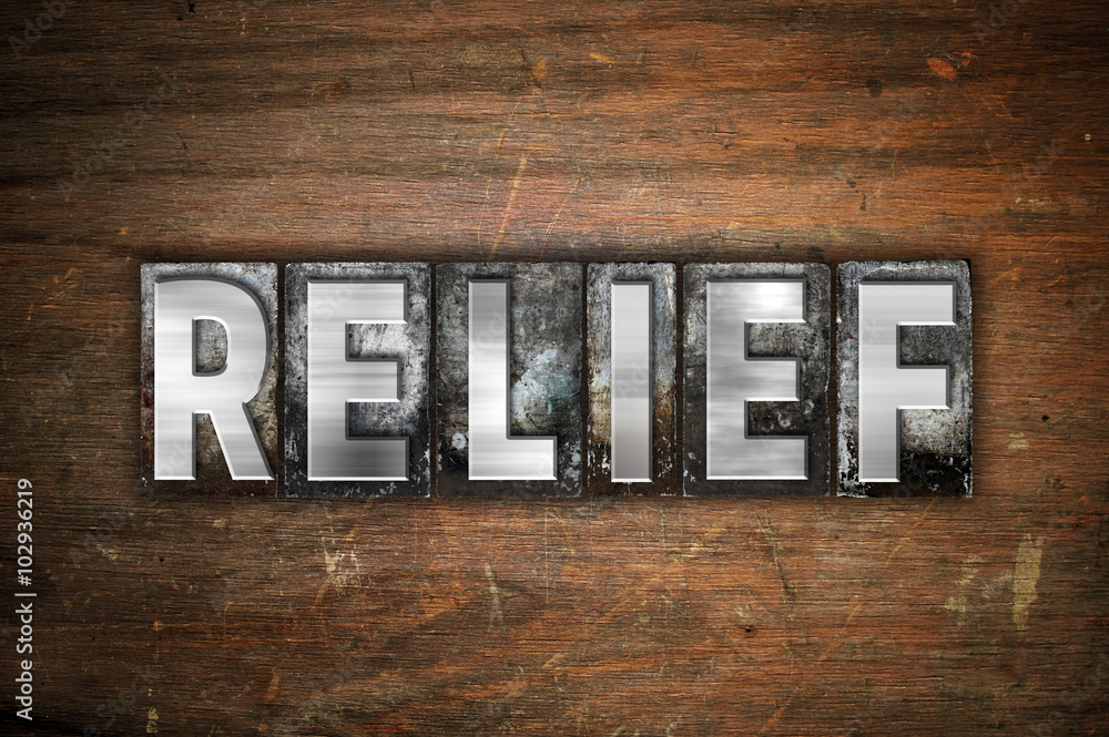 Valokuva  Relief Concept Metal Letterpress Type