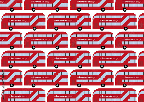 Photo  London Routemaster as wallpaper