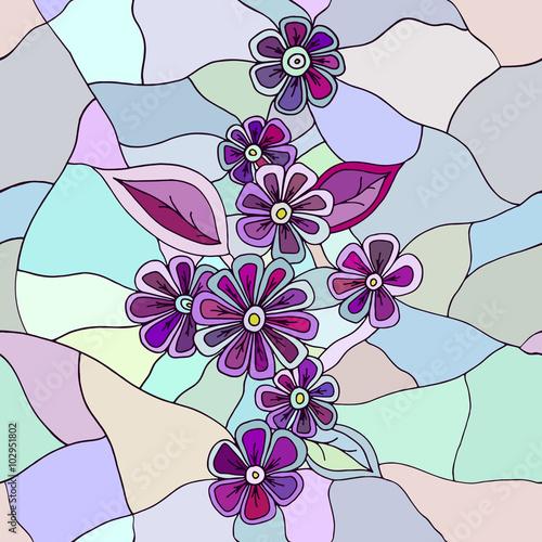 kwiatowy-recznie-rysowane-wzor
