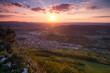 Aussicht. Messelstein über Donzdorf - Schwäbische Alb -