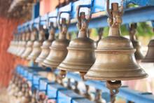 Hindu Temple Bell.