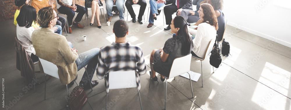 Fototapeta Business Team Seminar Corporate Strategy Concept