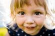 Leinwandbild Motiv Curious child