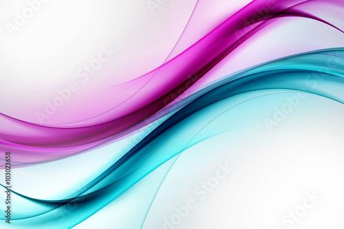 projekt-streszczenie-fala-niebieski-fioletowy-tlo