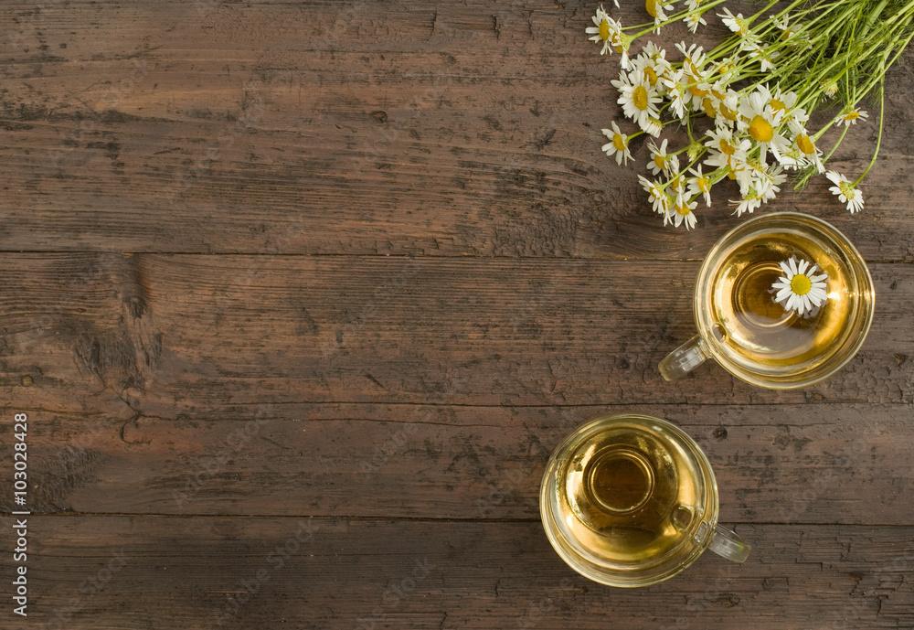 Fototapety, obrazy: chamomile tea