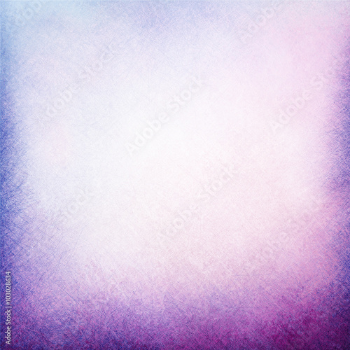 light purple blue background with pale white center spot and darker purple blue grunge design border texture with soft lighting, spring or Easter color background