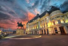 Bucharest Sunset. University L...