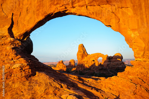 Poster de jardin Parc Naturel Arches National Park