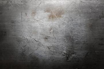 Fototapeta Scratched metal background